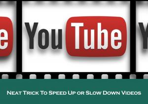 Neat YouTube Trick