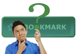 Dude questioning how to bookmark