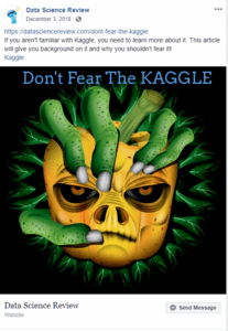 Don't Fear the Kaggle