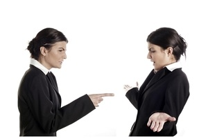 Woman Complaining to Another Woman