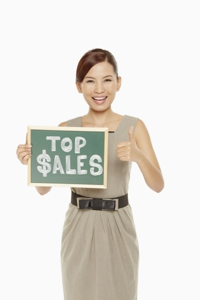 Top Sales Sign Woman
