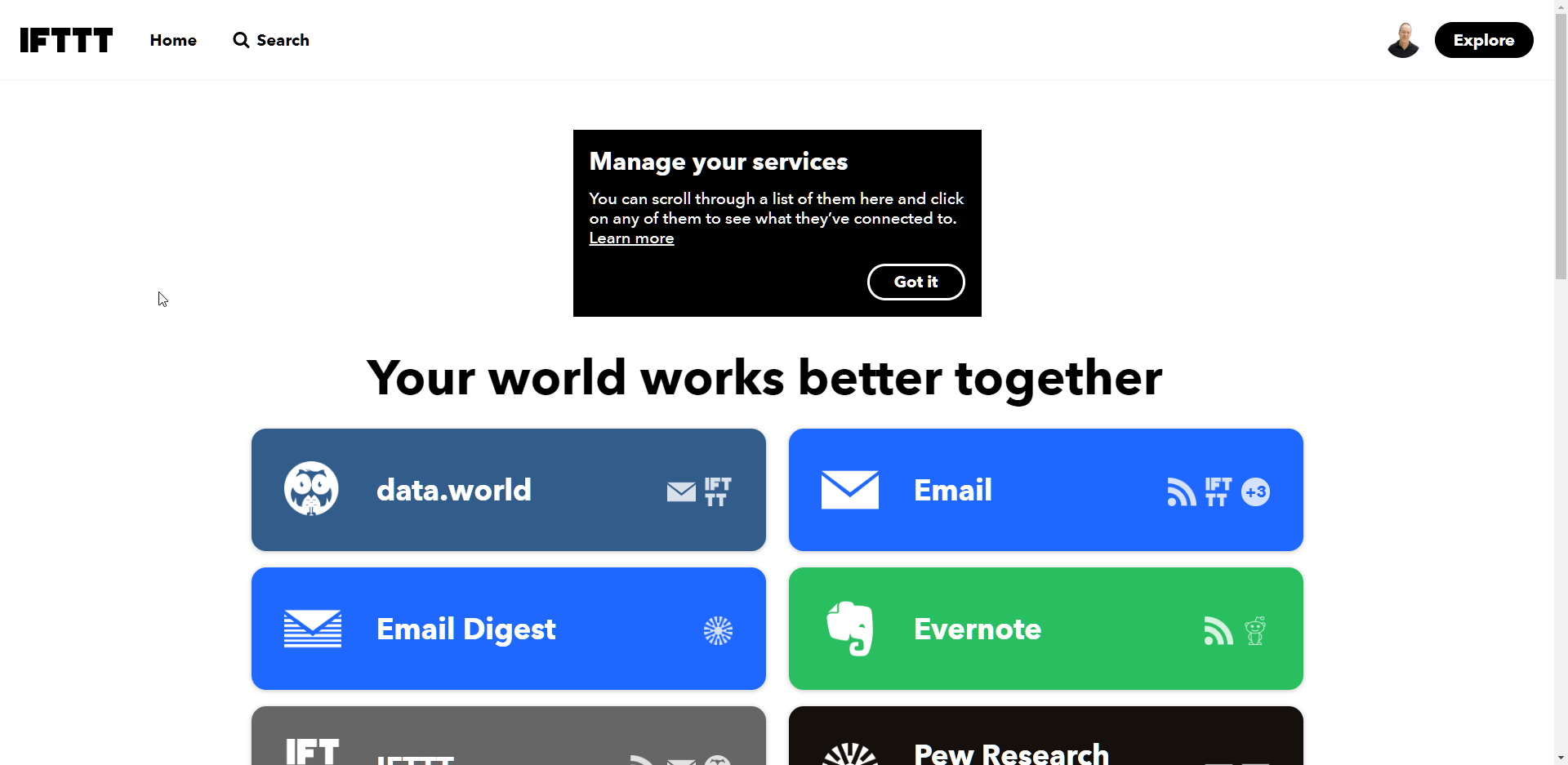 IFTTT - If This Then That