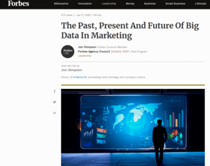 Forbes Article About Big Data and Marketing