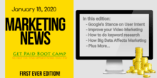 Marketing News January 18 2020