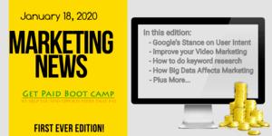 Marketing News January 18 2020