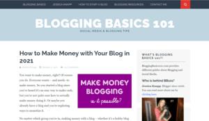 Blogging Basics 101