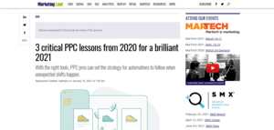 PPC Lessons for 2021