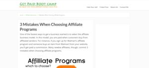 GetPaidBootCamp Affiliate
