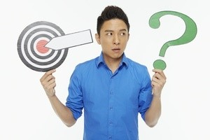 Man Questioning Target