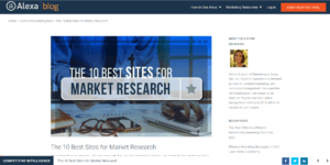 Market Research Websites