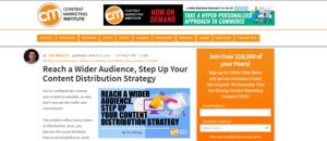 Resource 4 Content Marketing Institute